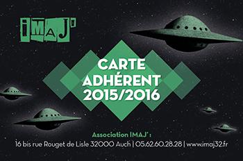 CARTE ADHERENT 2015/2016