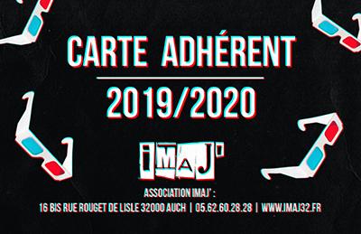 CARTE ADHERENT 2019/2020